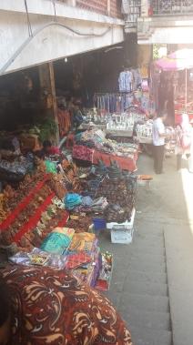 The infamous Ubud market