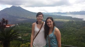 Mt. Batur, active volcano