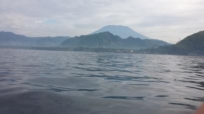 Mt. Agung- active volcano