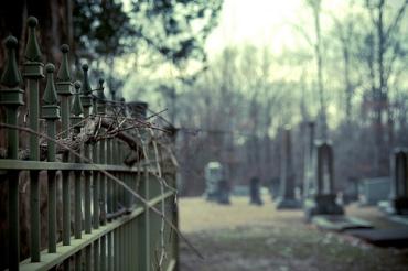 Cemetery-gates